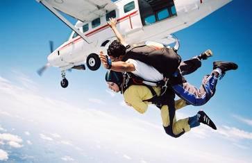 想要挑战?没有最刺激,只有更刺激!【极限高空跳伞 · 45秒自由落体 · 空中俯瞰夏威夷群岛】